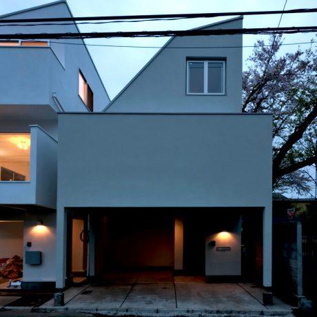 渋谷区笹塚の戸建て住宅:B