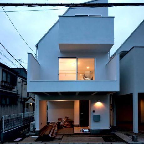 渋谷区笹塚の戸建て住宅:A