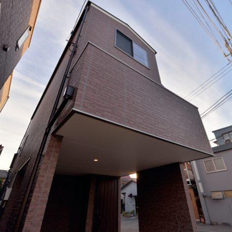 大田区羽田3の戸建て住宅