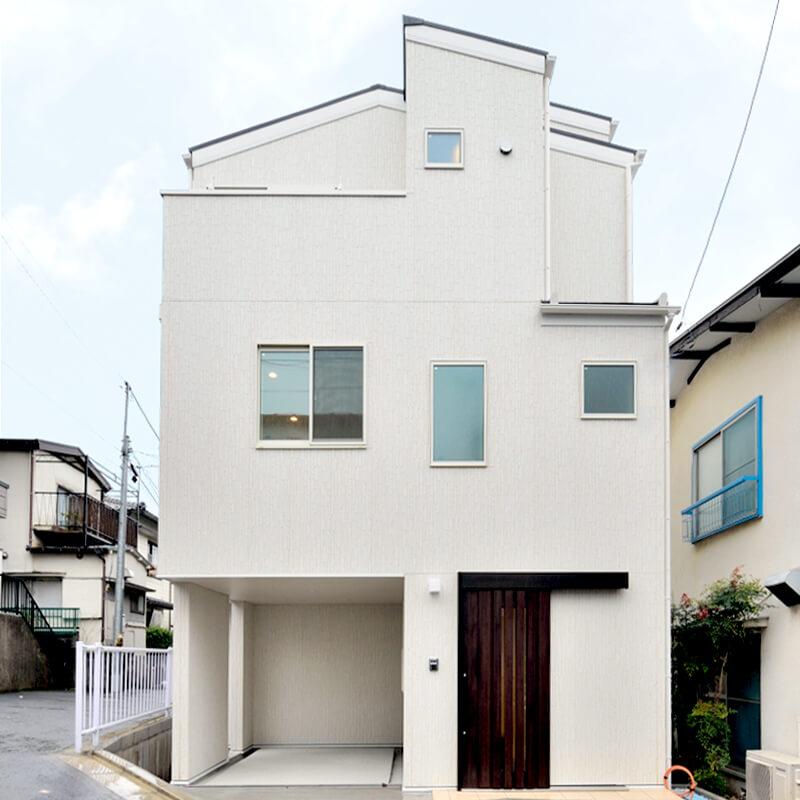 渋谷区幡ヶ谷3の住宅