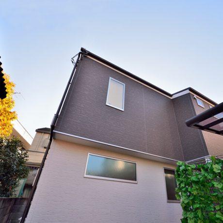世田谷区羽根木1の二世帯住宅
