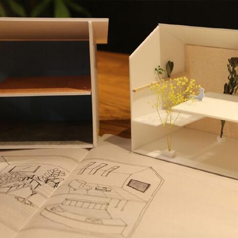 2/23(土)「お家の模型をつくるワークショップ」