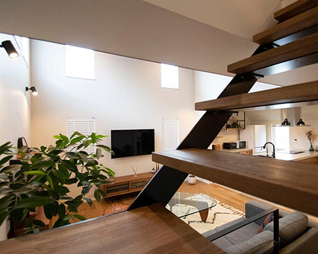 新築住宅のおしゃれな「階段」事例特集