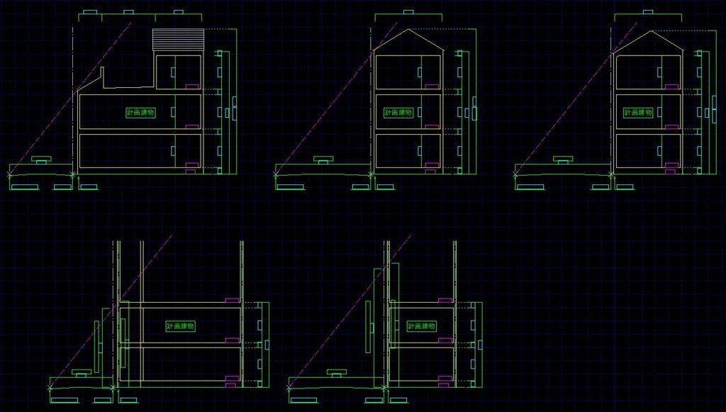 建物計画の変更について